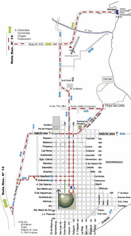 Mapa para llegar a Clínica de Ojos en Concordia, Entre Rios.
